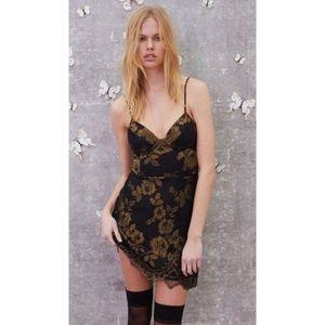 For Love & Lemons Bumble Bustier Mini Dress NWT